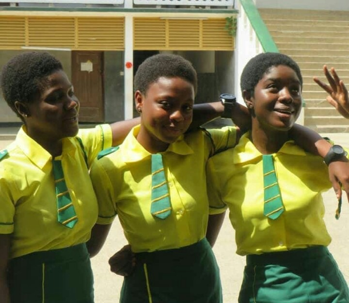 Take a look at those beautiful pictures of high school girls looking stunning in their school uniforms.