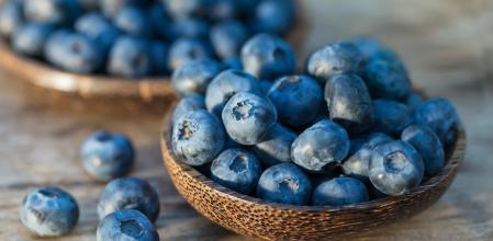 Los arándanos tienen flavonoides