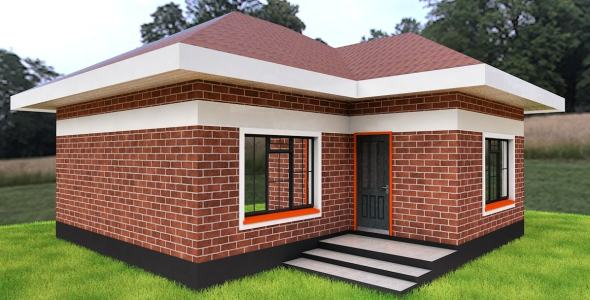 Modern House Plans And Designs For A Two Bedroom House In Kenya Opera News,2 Chandelier Over Dining Table