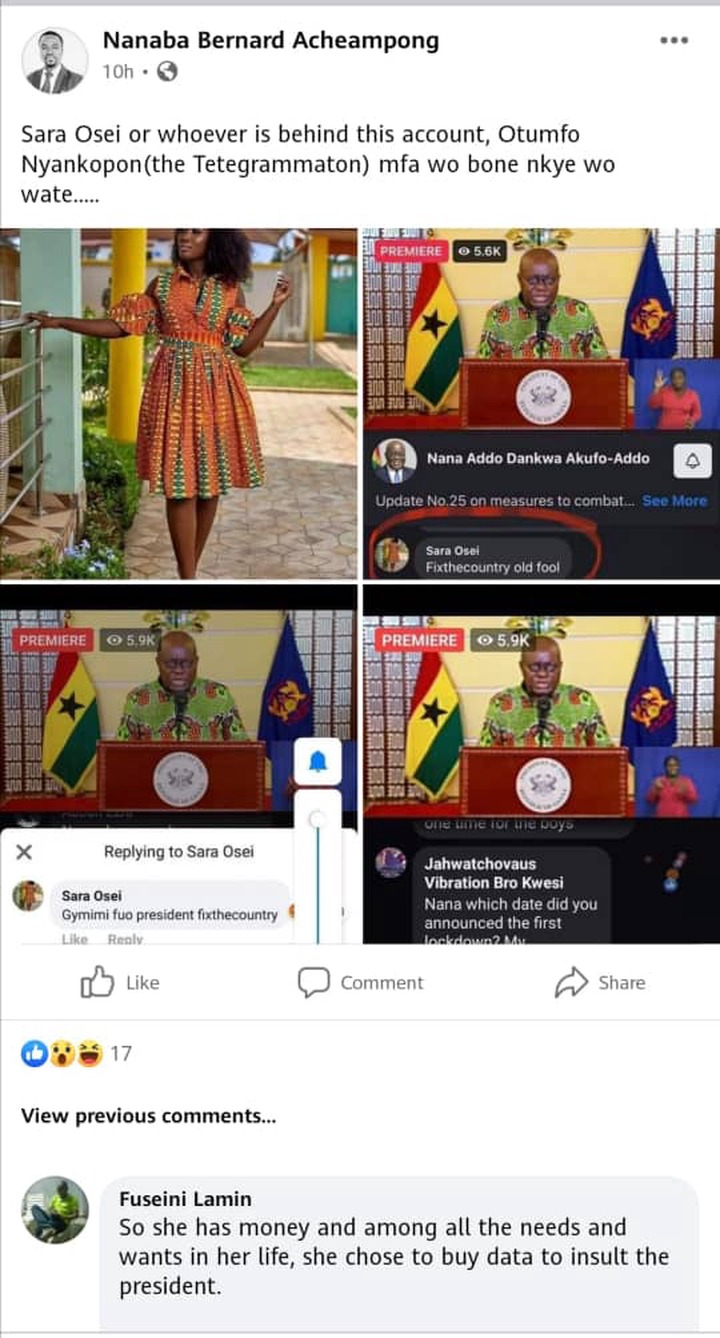 Ending politics of insult: More troubles for Sara Osei, the lady who insulted Akufo Addo. 55
