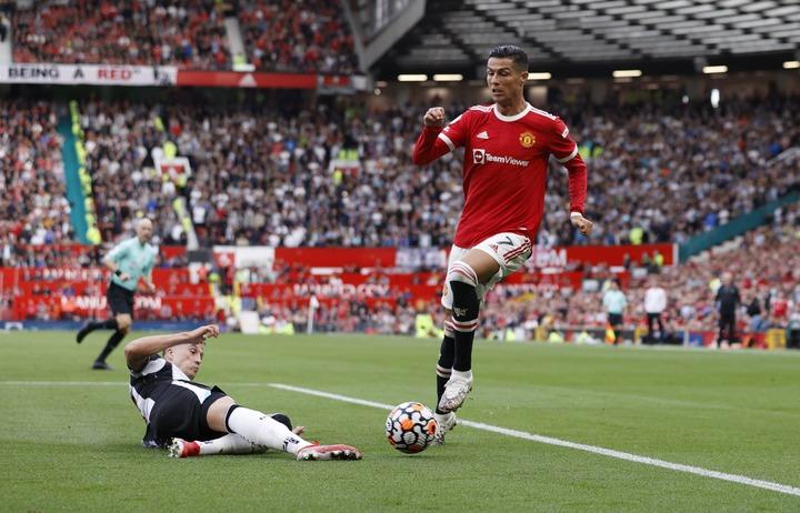 I was super nervous', says Ronaldo after memorable second debut at Man Utd  | Reuters