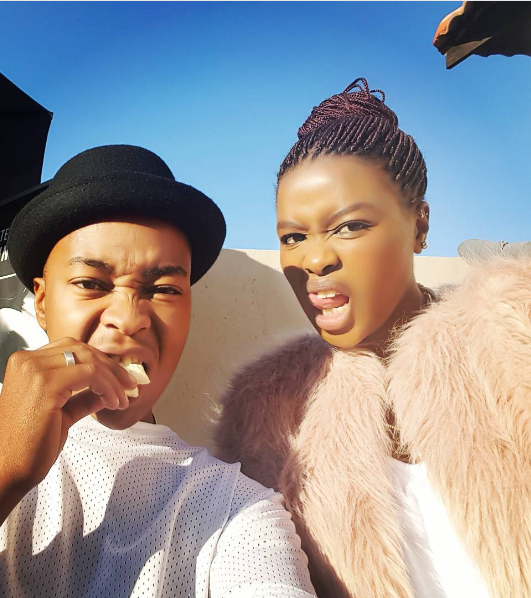 Generations:The Legacy actor Junior Singo and his girlfriend - Opera News