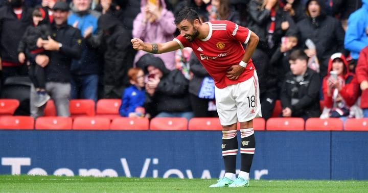Watch: Bruno Fernandes appears to mock Dalot's goal in Man Utd win - Planet  Football