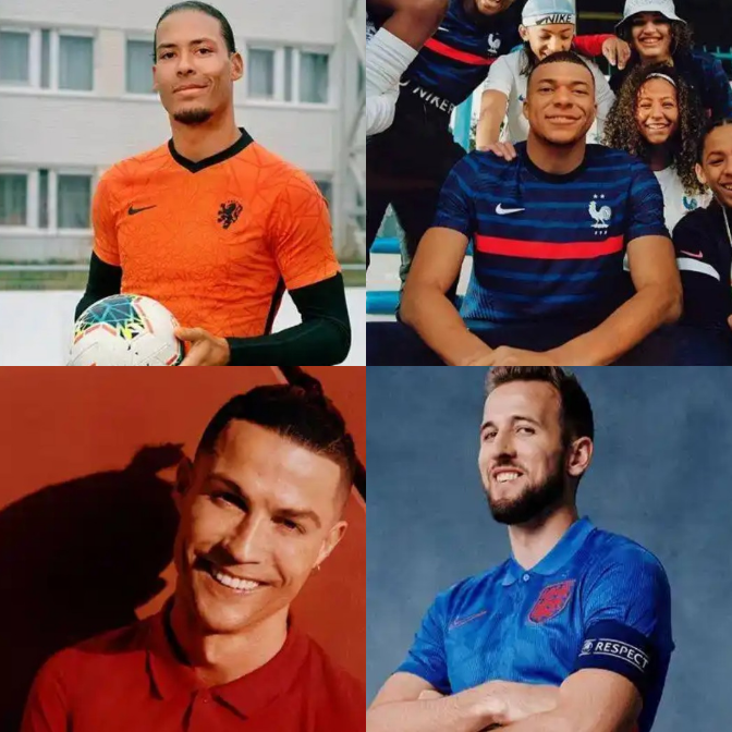 Uefa Nations League Portugal And Others Unveiled Their New Kits Ahead Of The European Tournament Opera News