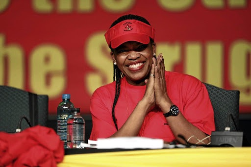 Cosatu president Zingiswa Losi says workers will be the biggest losers should the ruling party lose its grip on power. File photo.
