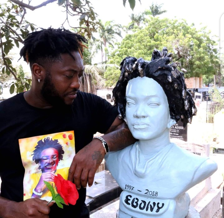 Shocking: 3 Years After The Death Of Ebony Reigns, See What Is Happening In Her Grave [Photos] 2