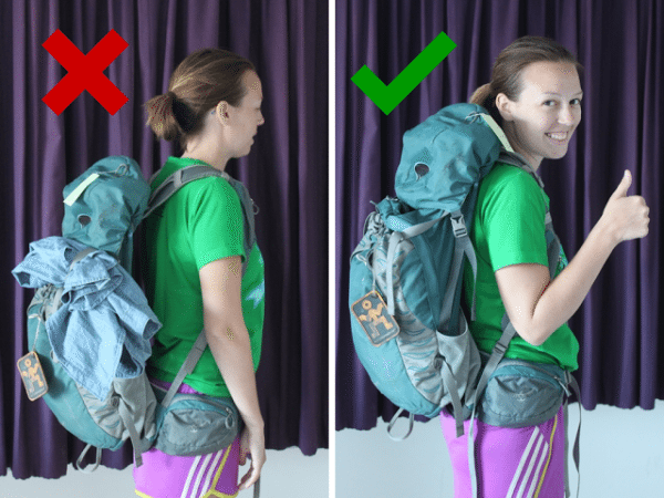 Ultimate Female Guide to Picking a Backpack - Her Packing List