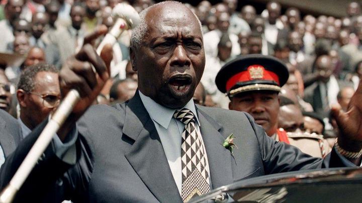 Kenya's ex-President Daniel arap Moi jailed my father' - BBC News
