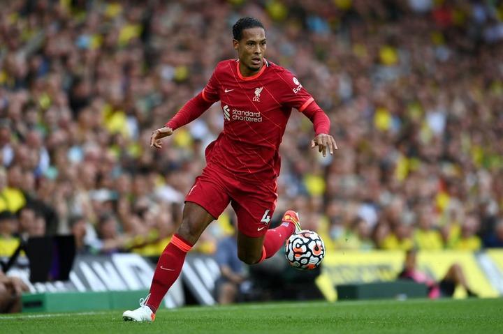 Liverpool's Van Dijk relishing Premier League return after 10-month absence