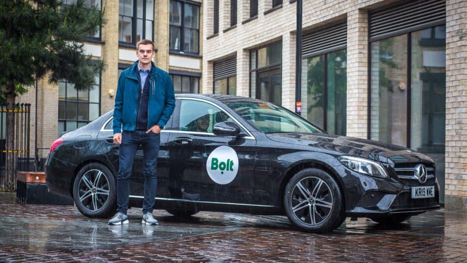 Bolt CEO Markus Villig
