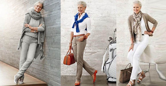 Fashion For Older Women - Older ladies Can Look Fabulous Without Trying to  Look Younger