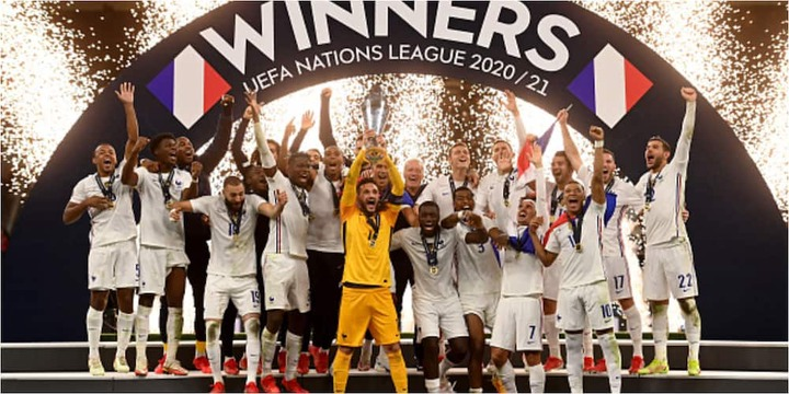 France Win 2nd Edition Of UEFA Nation League with Narrow Win over Spain ▷  Nigeria news | Legit.ng