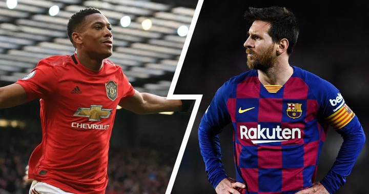 Anthony Martial more popular than Lionel Messi in China