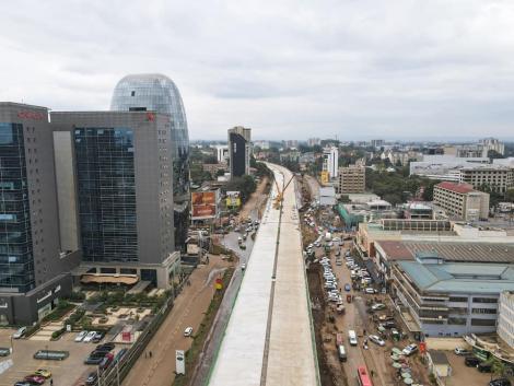 A file Image of the Nairobi Express Way along Waiyaki Way in <a class=