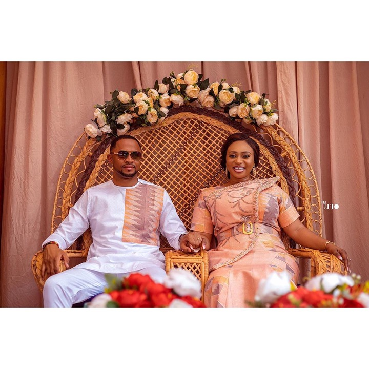 Photos of Adwoa Safo and her current husband drop on their wedding anniversary. 60