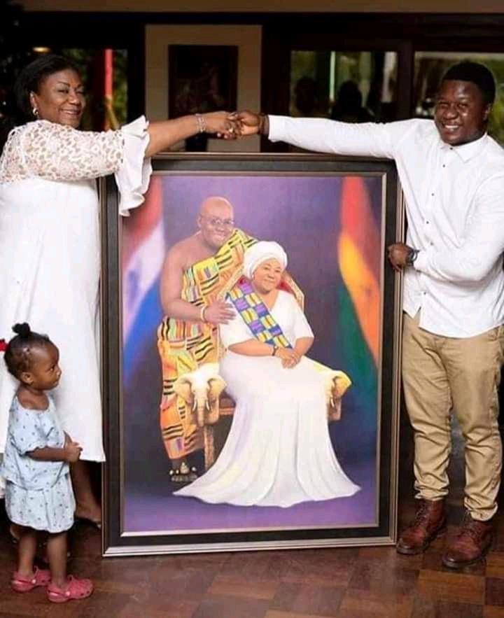 Rebecca Akufo Addo Donate $200,000 To Help Creator Emmanuel Apreku Who Has Been Diagnosed With Liver - Opera News