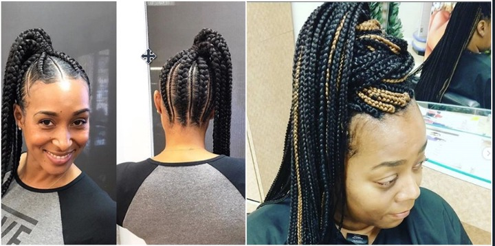 2020 best African braids hairstyles