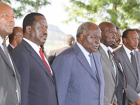 What Raila and Uhuru needed to learn from former President Daniel arap Moi  - YouTube