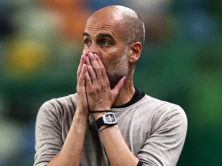 Pep Guardiola accepts blame for Manchester City's European failures |  Manchester City | The Guardian
