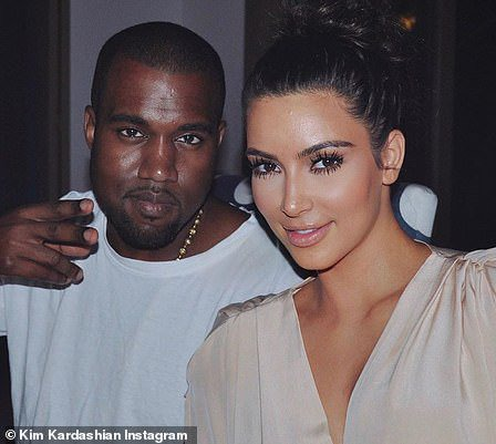 Heavy: Crew members were seen carrying Kanye's large speakers