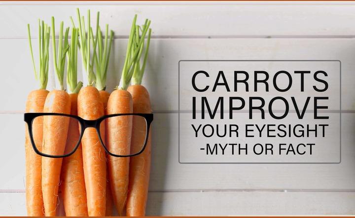 Carrots Improve Your Eyesight – Myth or Fact