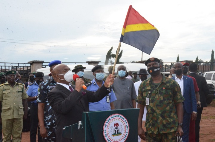 """Nigeria: Army's Operation Golden Dawn flagged off in Imo State, Governor  Uzodinma tells troops to target """"criminal elements"""" - Global Upfront  Newspapers"""