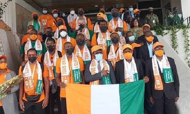 Basket : vice-champions d'Afrique, les Eléphants sont de retour à Abidjan