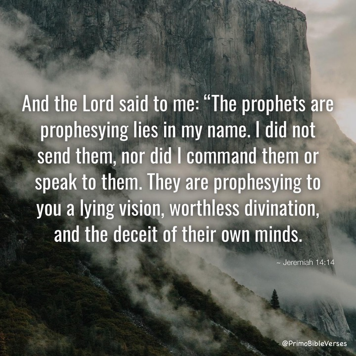 Bible Verses about Jeremiah 14