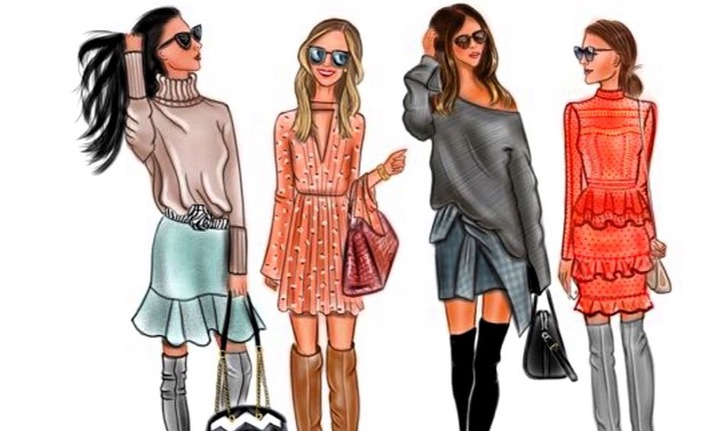 8-Week Fashion Design Series: Fall Casual Wear Illustrations   Small Online  Class for Ages 8-13   Outschool