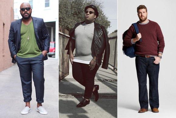 moda plus size masculina 1   Ideias Mix