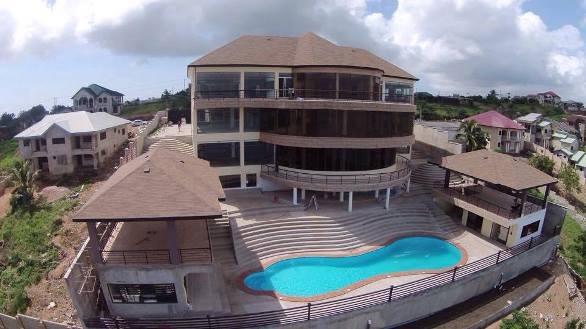 Photos: Asamoah Gyan says his house cost over $3m   Photos