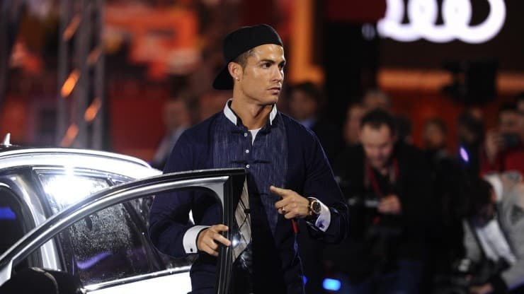 Cristiano Ronaldo owns a collection of luxury cars.