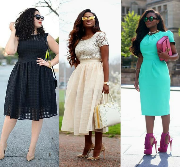 curvy girls dresses