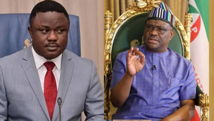 Thunder Fire You! – Wike attacks Ayade, Says A Poor State Will Be Giving  Budgets In Trillions | Debtviews