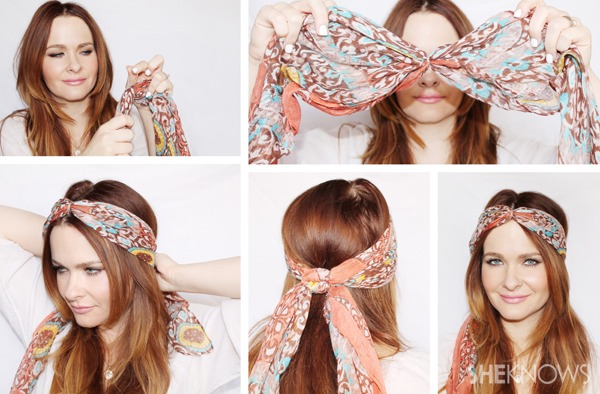 10 Hair-Scarf Tutorials That'll Take Your Summer Style to the Next Level –  SheKnows