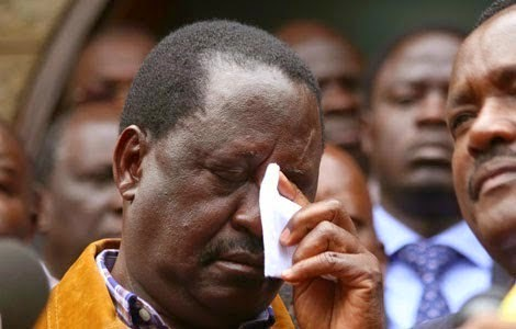 Raila badly embarrassed at his home ground after controversial statement    Pulselive Kenya