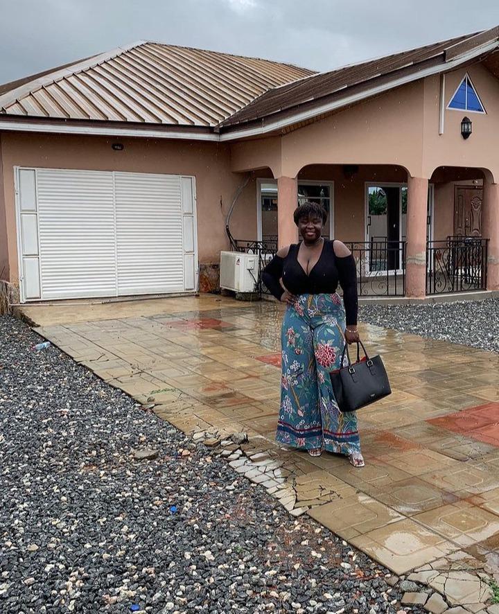 Photos Of Maame Serwaa's Beautiful Mansion At East Legon 1
