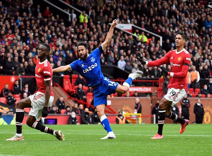 Man United vs Everton result: Hosts left frustrated after Andros Townsend  earns point | The Independent