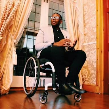 True Love!!: Meet Physically Challenged Son Of A Former Ogun State Governor And His Jamaican Born-Wife
