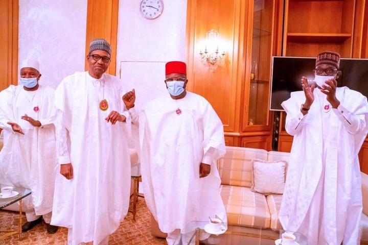 PHOTOS: Gov Umahi Visits 'Boss' Buhari After Joining APC – The Whistler  Nigeria