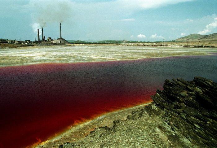 Toxic Apocalypse #7 | Radioactive Lake Karachay | Water pollution facts,  Lake, Norilsk