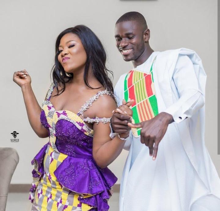 Jonathan Mensah and wife Kafui Tinglafo Mensah