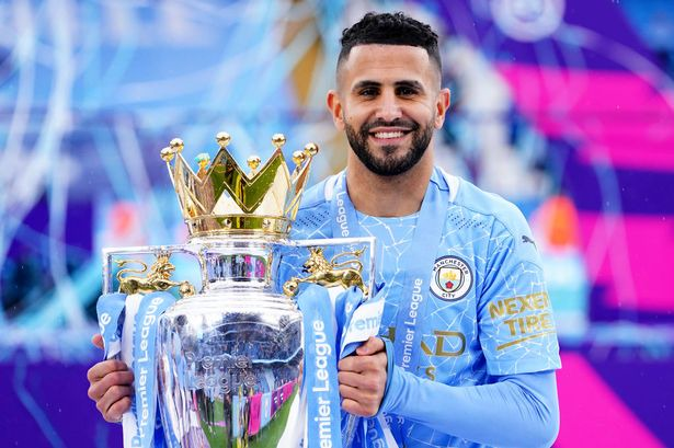 Riyad Mahrez names six clubs who will rival Man City for Premier League  title - Manchester Evening News