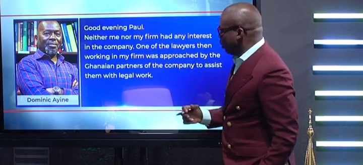 Dear Paul, I'm innocent: Dr. Ayine brilliantly reacts to the $170m judgment debt saga. 51