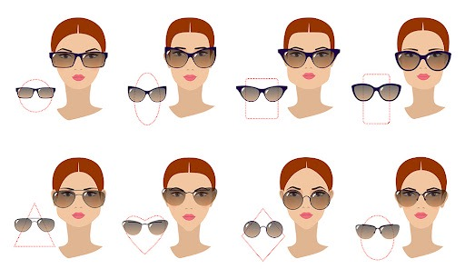sunglasses and face shape > Up to 73% OFF > Free shipping