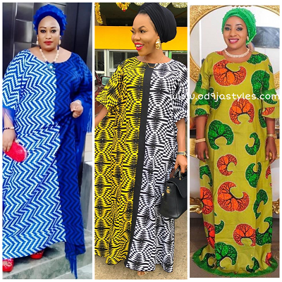 Ankara Maxi Gowns That Will Make You Slay Anytime (See Pictures)