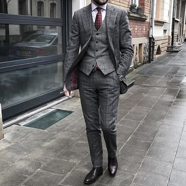 How to Wear a Three Piece Suit Ways with Style - outfitrs