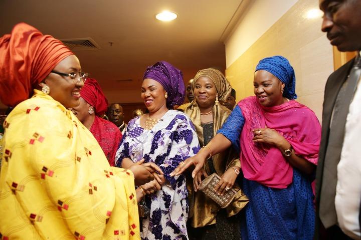 Image result for Aisha Buhari patience jonathan