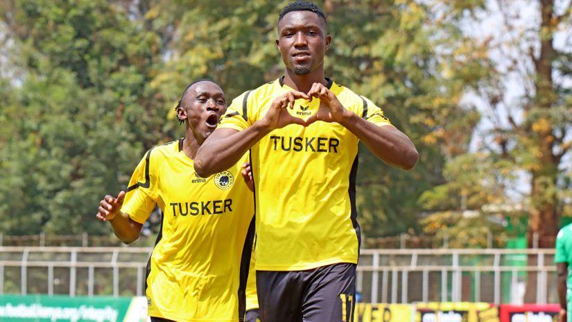 Red hot Tusker striker eyeing Golden Boot