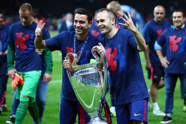 Andres Iniesta claims Xavi is ready to manage Barcelona